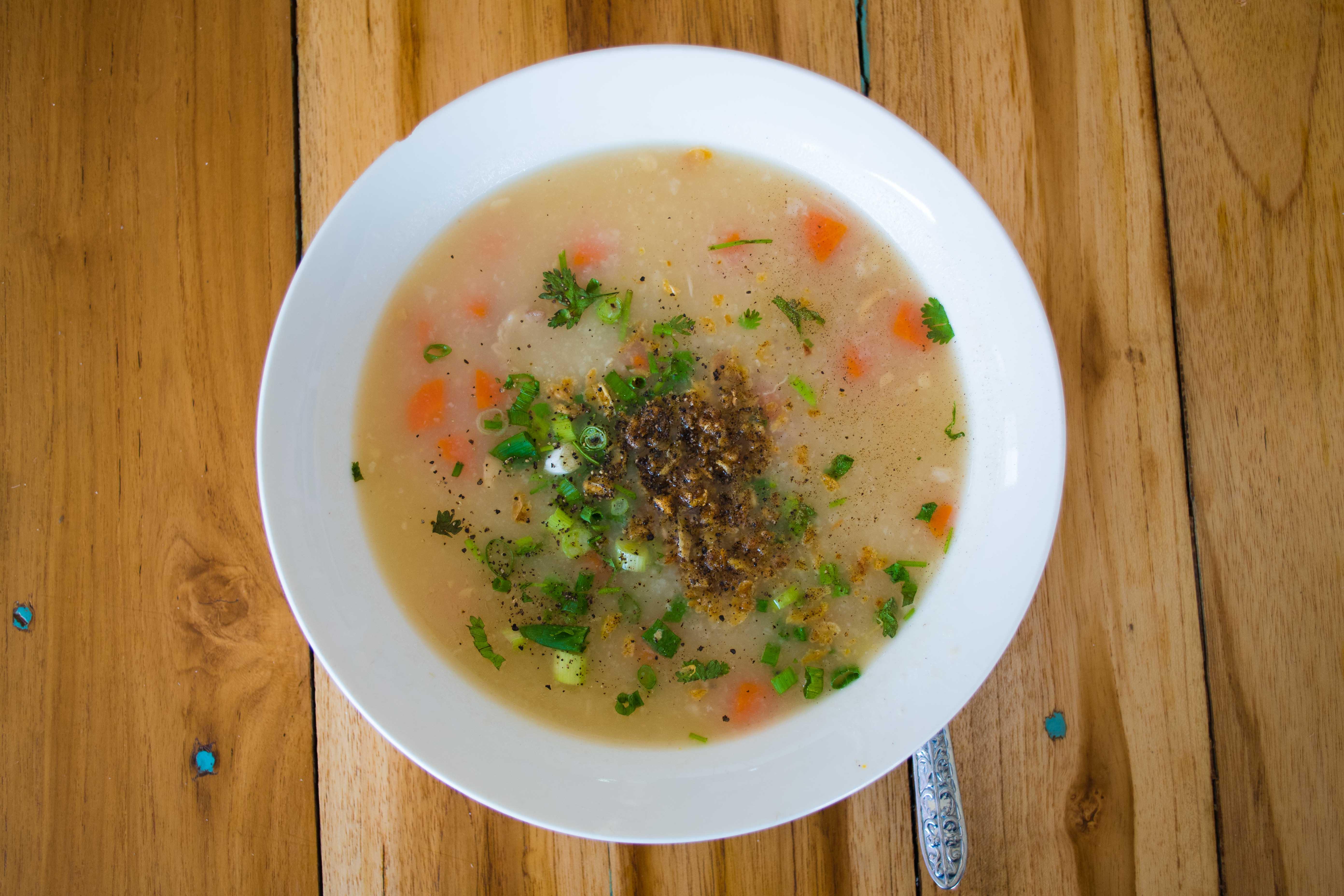 Pinkeo's Laotiaanse rijstsoep