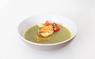 Salade-geitenkaas-soep