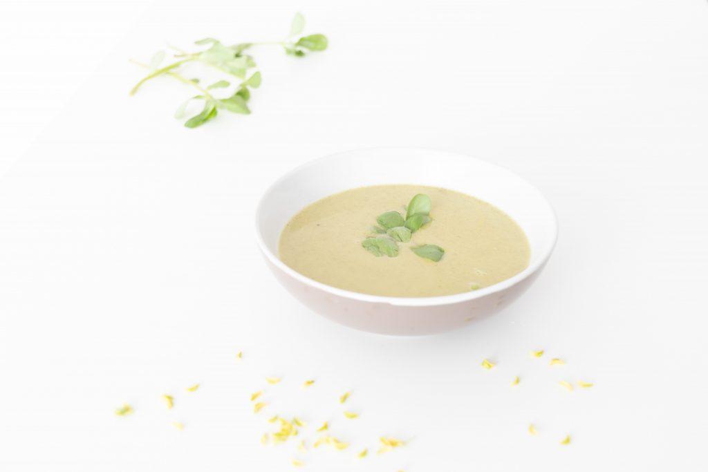 Tuinbonen-posteleinsoep - Soepiemonster