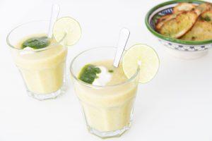 Courgettegazpacho - Soepiemonster