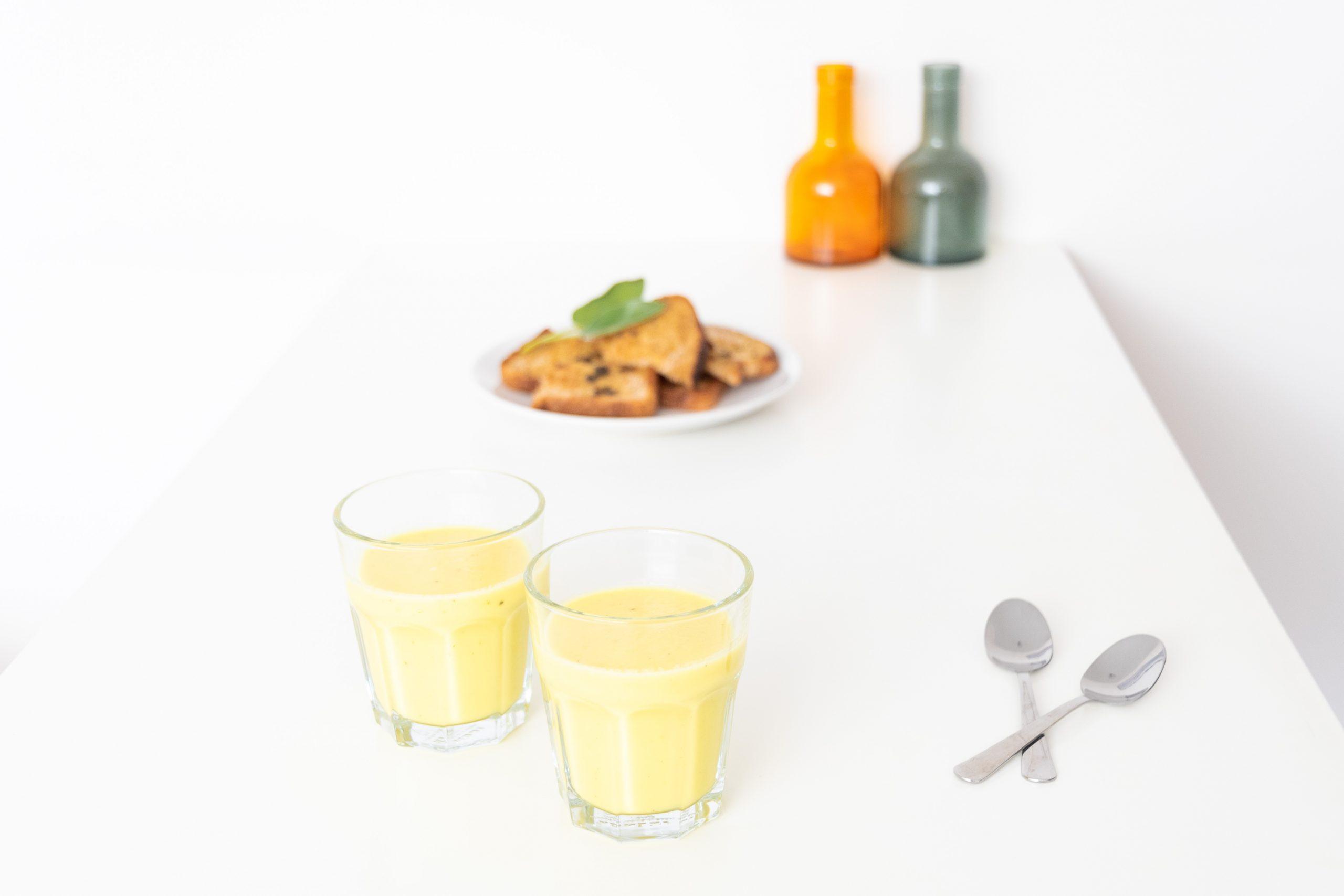 Gelebietensoep met salietoast - Soepiemonster